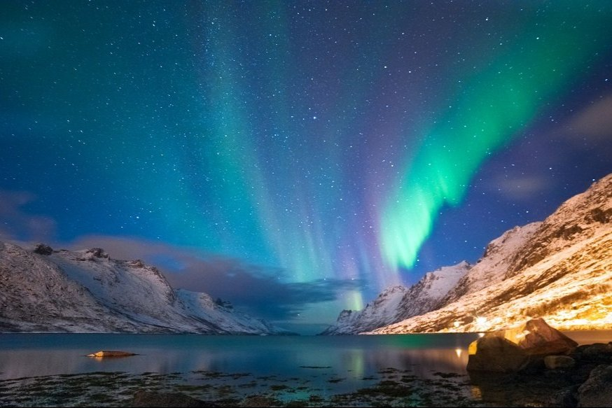 Inverno in Scandinavia